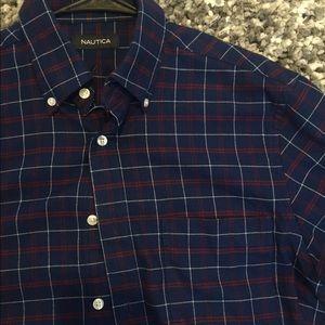 Nautica Shirts - Nautica blue flannel